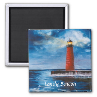 Lonely Beacon Magnet