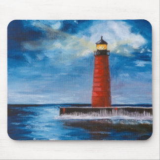 Lonely Beacon Mousepad