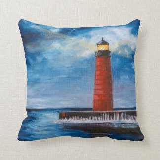 Lonely Beacon Pillow