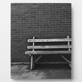 Lonely Bench Plaque