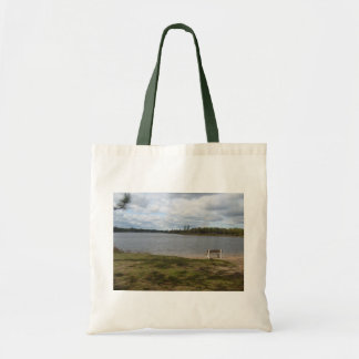 Lonely Bench Tote Bag