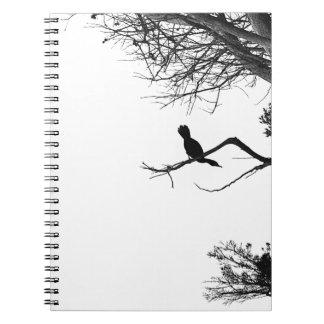 Lonely Bird Spiral Notebooks
