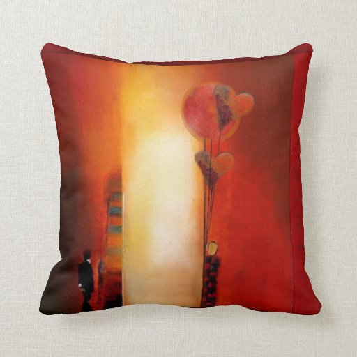 Throw Pillows Lagos : Lonely Boy Throw Pillow Zazzle