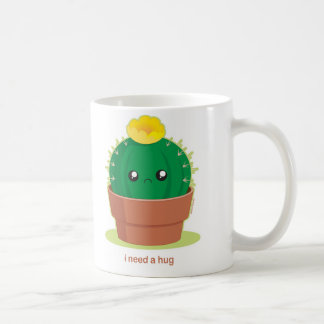 Lonely Cactus Coffee Mugs