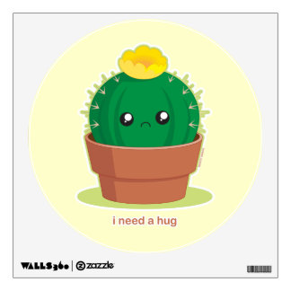 Lonely Cactus Wall Sticker