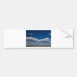 lonely chimney bumper sticker