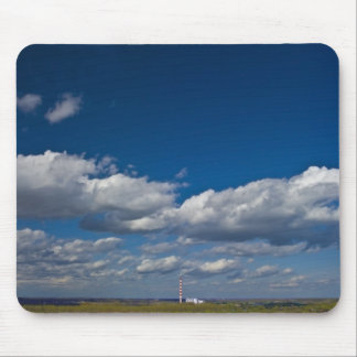 lonely chimney mouse pad