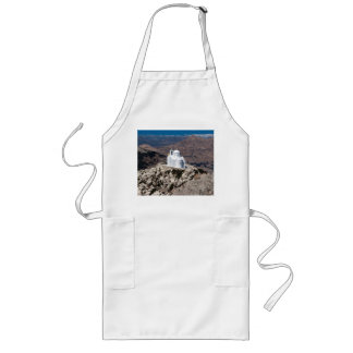 Lonely church in Greek mountains Long Apron
