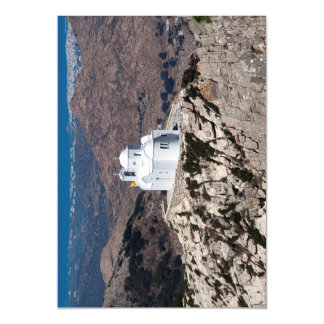 Lonely church in Greek mountains Magnetic Card