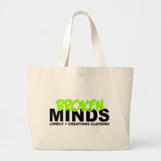 LONELY CREATIONS - Broken Minds Canvas Bag