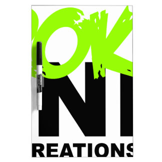 LONELY CREATIONS - Broken Minds Dry Erase Board