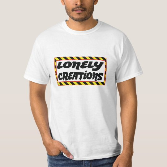 Lonely creations stripe rectangle yellow T-Shirt