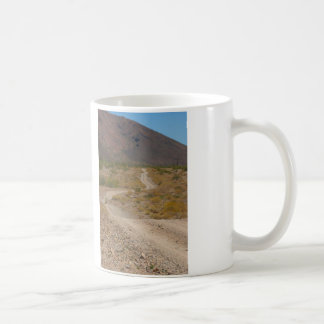 Lonely Desert Road 01 Coffee Mug