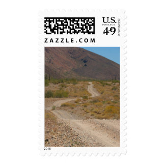 Lonely Desert Road 01 Stamps