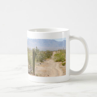 Lonely Desert Road 02 Coffee Mug
