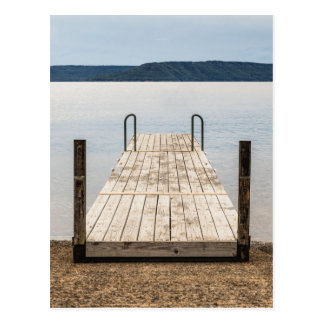 Lonely Dock on Greer's Ferry Lake in Arkansas Postcard
