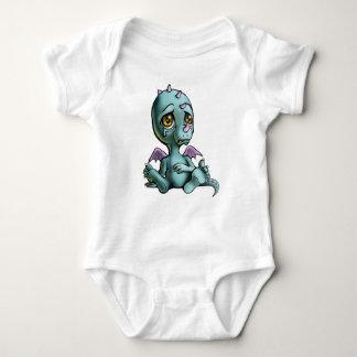 Lonely Dragon Baby Bodysuit