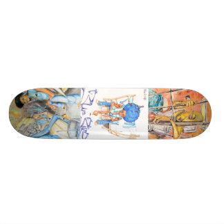 Lonely Eye-1, Blue Bird-1, Fallen Angels-1 Skateboard Deck