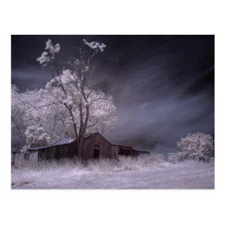 Lonely Farmhouse Postcard