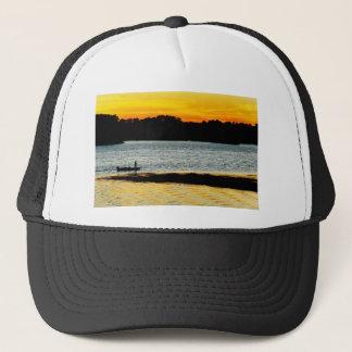 Lonely Fisherman Trucker Hat