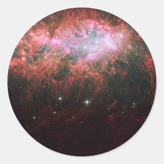 Lonely Galaxy Classic Round Sticker