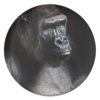 Lonely Gorilla Plate