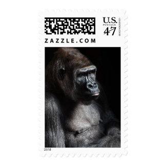 Lonely Gorilla Postage