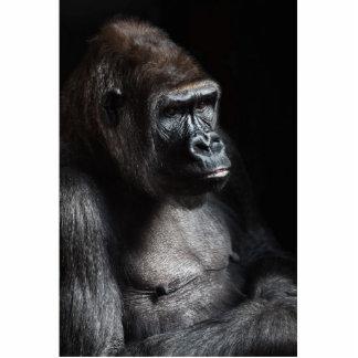 Lonely Gorilla Statuette