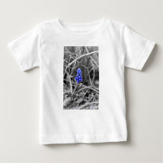 Lonely Grape Hyacinth Select Color Baby T-Shirt