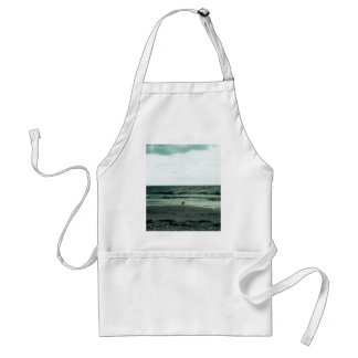 Lonely Gull Adult Apron