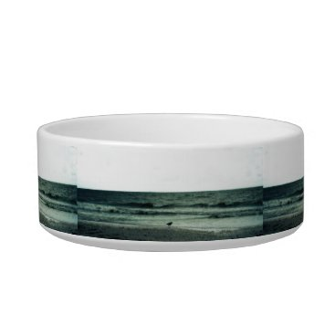 Beach Themed Lonely Gull Bowl