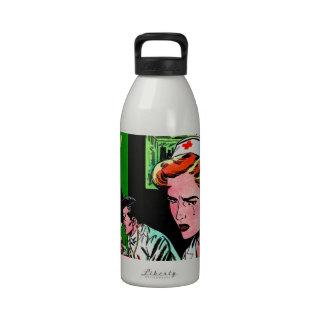 Lonely Heart Nurse - Love Romance Art Drinking Bottles