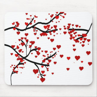 Lonely Heart Tree Mousepad