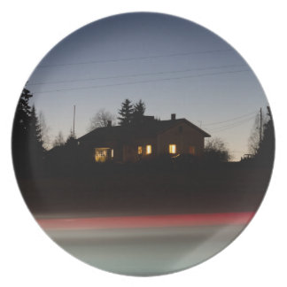 Lonely house party plates