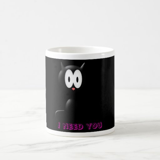 lonely-kitty, I need you Mug