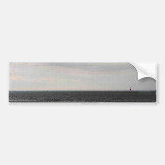 Lonely Lighthouse Car Bumper Sticker