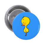 Lonely little duckling pin
