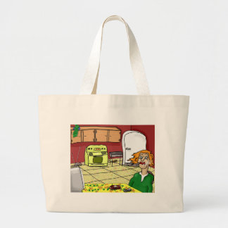 Lonely Midnight Large Tote Bag