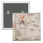 Lonely Mountain 2 Inch Square Button