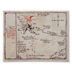 Lonely Mountain Poster at Zazzle