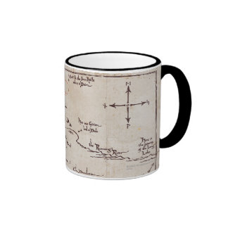 Lonely Mountain Ringer Coffee Mug