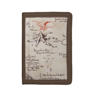 Lonely Mountain Tri-fold Wallets