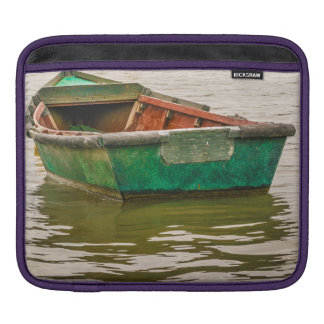 Lonely Old Fishing Boat at Santa Lucia River iPad Sleeve