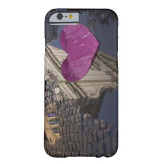 Lonely paper heart floating in a puddle. barely there iPhone 6 case