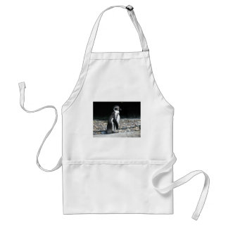 Lonely Penguin Adult Apron