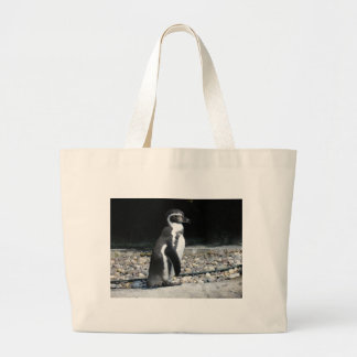 Lonely Penguin Large Tote Bag