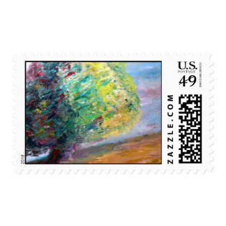 Lonely Postage Stamp