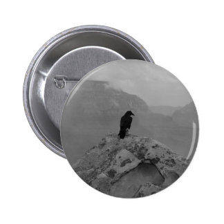 Lonely Raven Button