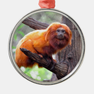 Lonely Red Leaf Monkey Christmas Tree Ornaments