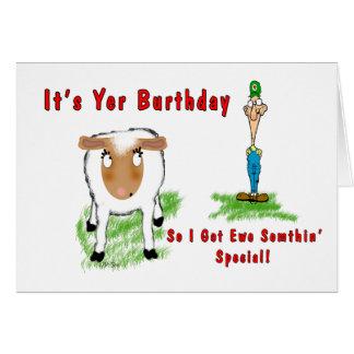 Lonely Redneck - Birthday Card